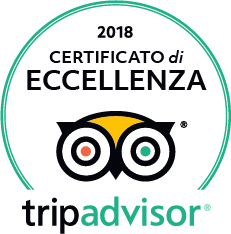 TripAdvisor Certificato di eccellenza 2018